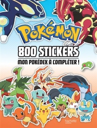 Vignette du livre Pokemon : 800 stickers