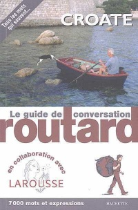 Vignette du livre Croate :Guide de conversation Routard