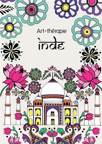 Coloriage Anti Stress Indien.Inde 100 Coloriages Anti Stress Par Emilie Ramon Loisirs