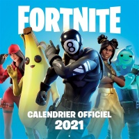 Vignette du livre Fortnite : calendrier officiel 2021