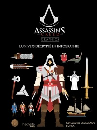 Vignette du livre Assassin's Creed Graphics. L'univers décrypté en infographie