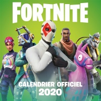 Vignette du livre Fortnite : calendrier officiel 2020
