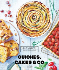 Vignette du livre Quiches, cakes & Co