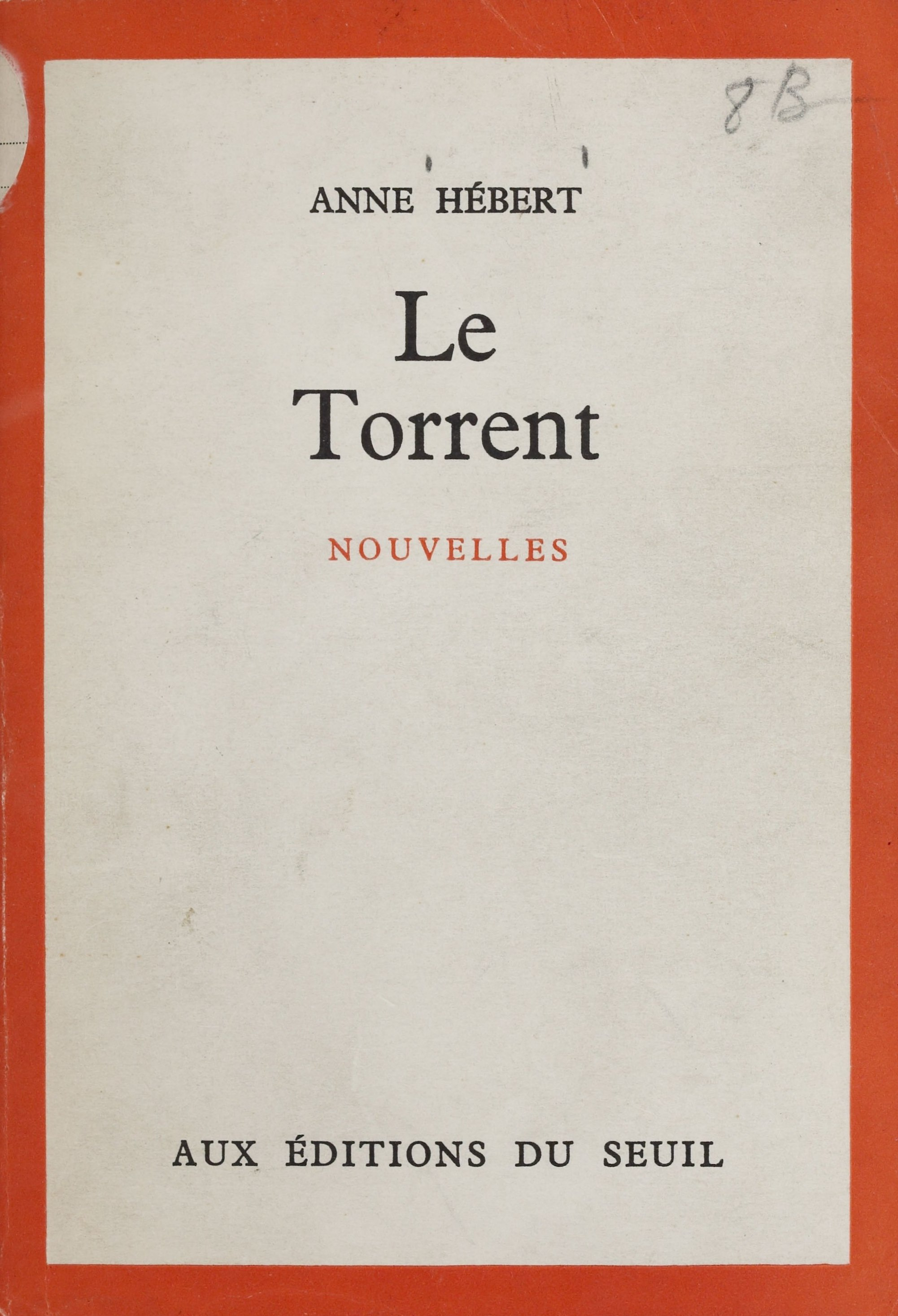 Vignette du livre Le torrent