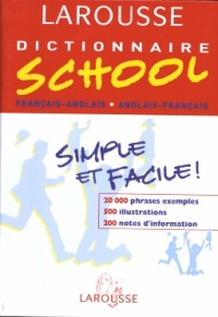 Dictionnaire School Fr/ang
