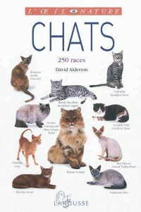 Vignette du livre Chats: 250 races - David Alderton, Marc Henrie