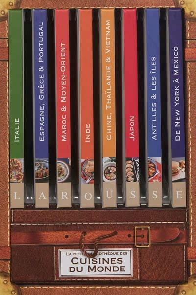 La Petite Bibliotheque Des Cuisines Du Monde Coffret 8