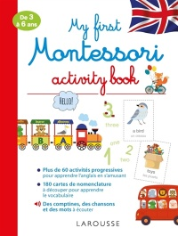 Vignette du livre My First Montessori Activity Book