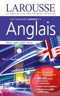 Dictionnaire compact plus anglais : frs-ang/ang-frs