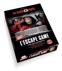 Vignette du livre La casa de papel : l'escape game