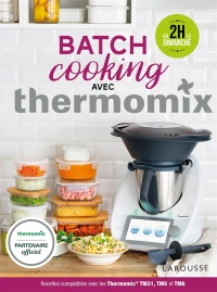 Vignette du livre Batch cooking avec Thermomix