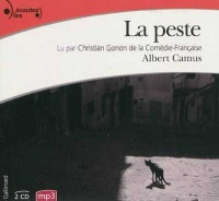 La peste  2 CD mp3  (9h30) - Albert Camus