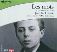 Les mots CD mp3 (6h00) - Jean-Paul Sartre