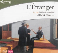 Étranger (L') 1 CD mp3  (3h30) - Albert Camus
