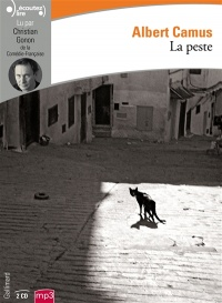 Vignette du livre La peste  2 CD mp3  (9h30) - Albert Camus