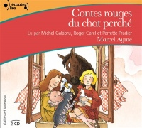 Vignette du livre Contes rouges du chat perché  CD - Marcel Aymé