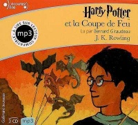 Vignette du livre Harry Potter T.4 Harry Potter et la Coupe de feu  3 CD mp3