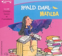 Matilda  1 CD mp3  (3h20) - Roald Dahl