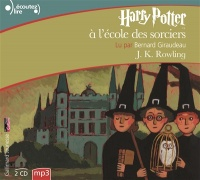 Vignette du livre Harry Potter T.1 : Harry Potter à l'école des sorciers  2 CD mp3