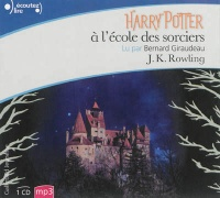 Vignette du livre Harry Potter T.1 : Harry Potter à l'École des... 1 CD mp3 (8h00) - J.K. Rowling