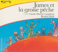 James et la grosse pêche 2 CD (2h30) - Roald Dahl