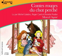 Vignette du livre Contes rouges du chat perché  CD