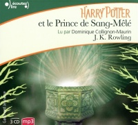 Vignette du livre Harry Potter T.6: Harry Potter et le Prince de Sang-Mêlé 3 CD mp3