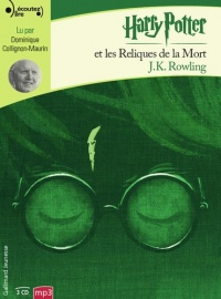 Vignette du livre Harry Potter T.7 : Harry Potter et les reliques..3 CD mp3 (26h00)