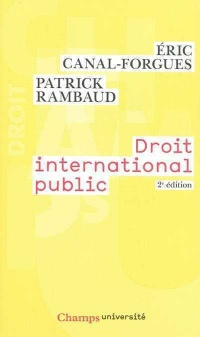 Vignette du livre Droit international public