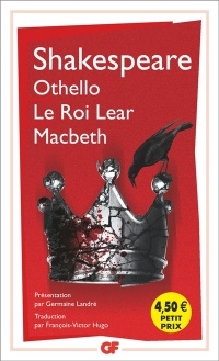 Vignette du livre Othello. Le roi Lear. Macbeth