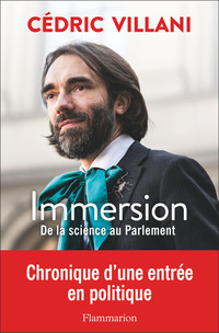 Vignette du livre Immersion : de la science au Parlement