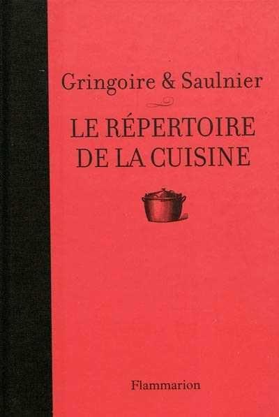 R pertoire de la cuisine le par th gringoire l - Dictionnaire de la cuisine ...