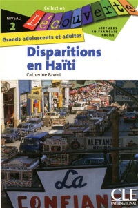 Disparitions en Haïti : niveau 2 CD AUDIO - Catherine Favret