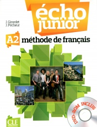 Echo junior A2 méthode de français, Jacques Pécheur