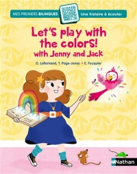 Vignette du livre Let's play with the colors with Jenny & Jack