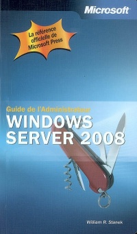 Vignette du livre Windows Server 2008: guide de l'administrateur
