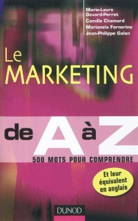 Vignette du livre Marketingd E a à Z (Le)