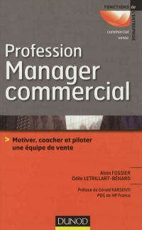 Vignette du livre Profession manager commercial
