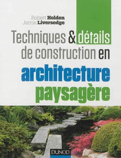 Techniques et d tails de construction en architecture for Les techniques de jardinage