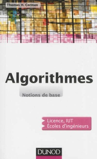 Vignette du livre Algorithmes: notions de base