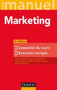 Vignette du livre Mini-manuel de marketing: cours + exercices 2e Éd.