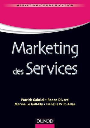 Vignette du livre Marketing des services