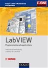 Vignette du livre LabVIEW: programmation et applications 3e Éd.