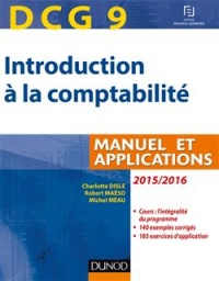 Vignette du livre Introduction à la comptabilité, DCG 9: manuel et applications : 2 - Charlotte Disle, Robert Maéso, Michel Méau