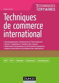 Vignette du livre Techniques de commerce international