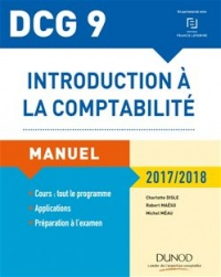 Vignette du livre Introduction à la comptabilité, DCG 9: manuel et applications : 2