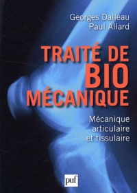 Vignette du livre Traité de biomécanique - Georges Dalleau, Paul Allard