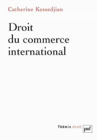 Vignette du livre Droit de commerce international