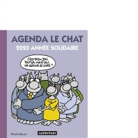 Agenda Le Chat 2020 : année solidaire - Philippe Geluck