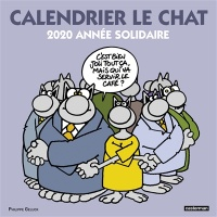 Calendrier Le Chat 2020 : année solidaire - Philippe Geluck
